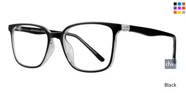Black Affordable Designs Tate Eyeglasses