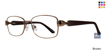 Brown Affordable Designs Marge Eyeglasses