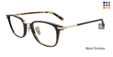 Black Tortoise John Varvatos V405 Eyeglasses - Teenager