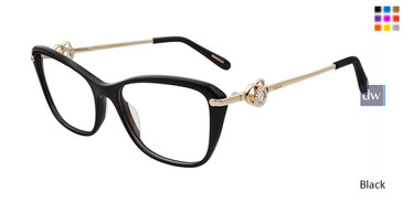 Black Chopard VCH237S Eyeglasses
