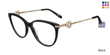 Black Chopard VCH238S Eyeglasses