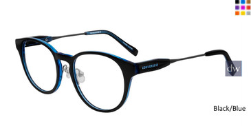 Black/Blue Converse K307 Eyeglasses