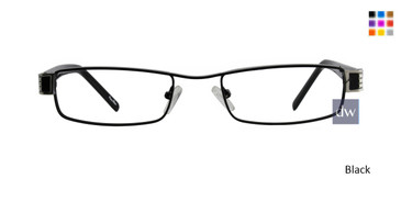 Black ST. MORITZ Calista Eyeglasses