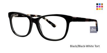 Black/Black-White TortRomeo Gigli RG77030 Eyeglasses