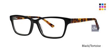 Black/Tortoise Romeo Gigli RG77029 Eyeglasses