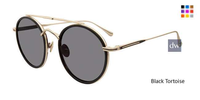Black Tortoise John Varvatos V523 Sunglasses