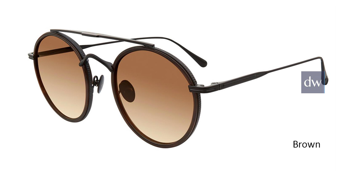 Brown John Varvatos V523 Sunglasses