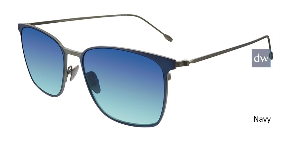 Navy John Varvatos V524 Sunglasses