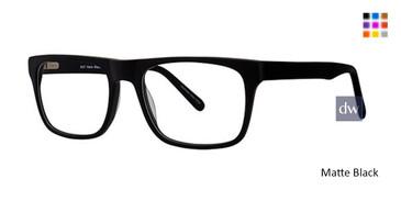 Matte Black Elan 3027 Eyeglasses