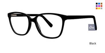 Black Elan 3030 Eyeglasses