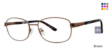 Brown Elan 3416 Eyeglasses