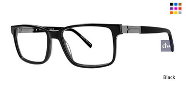 Black Elan 3720 Eyeglasses