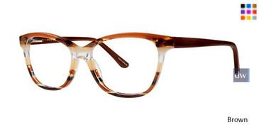 Brown Vavoom 8083 Eyeglasses