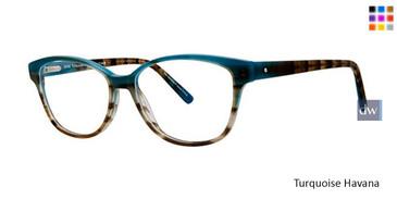 Turquoise Havana Vavoom 8086 Eyeglasses