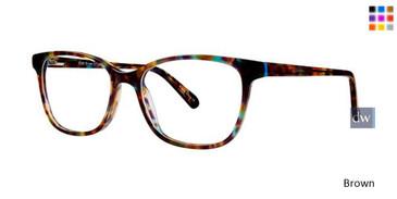 Brown Vavoom 8088 Eyeglasses