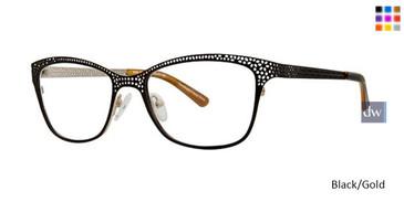 Black/Gold Vavoom 8090 Eyeglasses