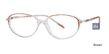 Brown Elan 9285 Eyeglasses