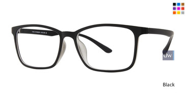 Black Vivid 265 Eyeglasses