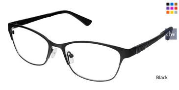 Black Superflex Titan SF-1084T Eyeglasses.