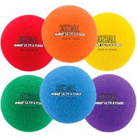 Rhino Foam No-Bounce 3'' Foam Balls Set