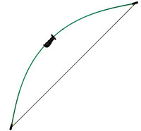 Bear Archery Crusader 50'' Recurve Bow