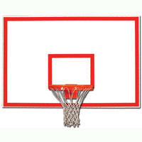 "Gared 1270B 48"" x 72"" Steel Rectangular Backboard"