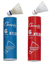Champion Sports Nylon Badminton Shuttlecocks