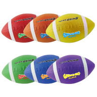 Champion Sports Rhino Super Squeeze Football Set