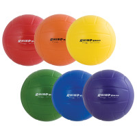 Champion Sports Rhino Skin Rainbow Volleyball Set