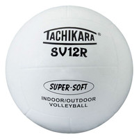 Tachikara SV12R Super Soft Rubber Volleyball