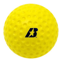 Baden Optic Yellow Dimpled Baseballs - Dozen