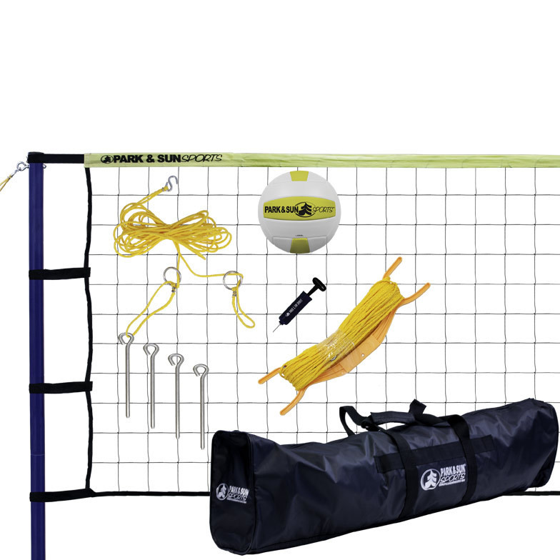 Spiker Sport Steel Outdoor Volleyball Net System