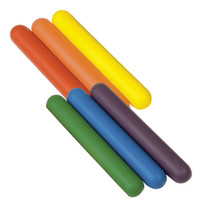 Champion Sports Foam Relay Baton Set