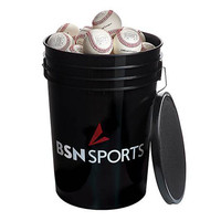 BSN SPORTS™ Bucket with 36 Mark 1 Official League Baseballs