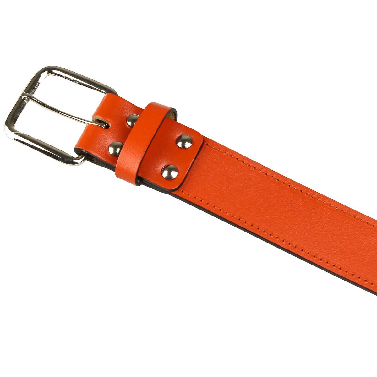 chro genuine bonded leather baseball belt
