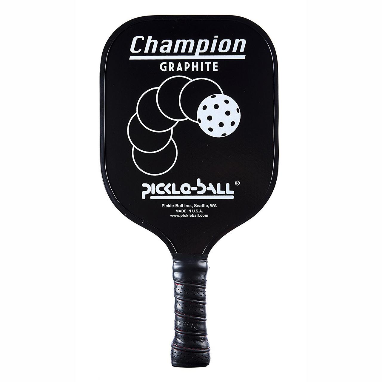 Pickleball Champion Paddle (PB119) Black