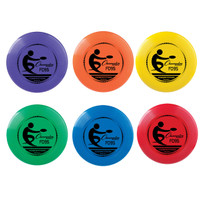 Champion Sports Flying Frisbee Disc Set of Six