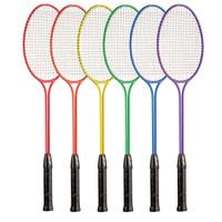 Champion Sports Steel Twin Shaft Badminton Rainbow Set (BR31SET)