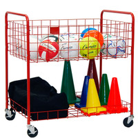Champion Sports Two Tier Storage Cart