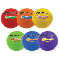 Champion Sports Super Squeeze Rainbow Soccer Ball Set