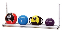 Champion Sports Wall Mounted Medicine Ball Rack