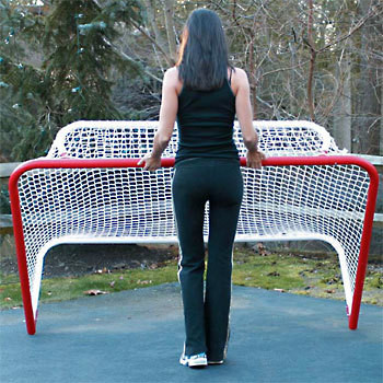 EZ Goal Folding Steel Hockey Goal