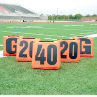 MacGregor Solid Sideline Markers with Handle