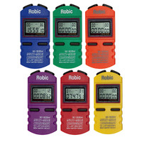 Robic SC-505W Rainbow Stopwatch Set
