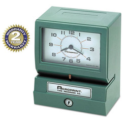 ACP01207040A | Acroprint Time Recorder Co