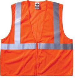 150-21047 | Ergodyne GloWear 8210Z Class 2 Economy Vests