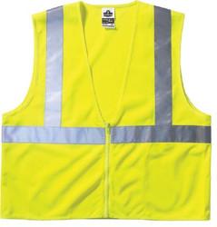 150-21055 | Ergodyne GloWear 8210Z Class 2 Economy Vests