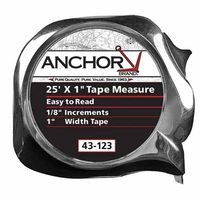 103-43-123 | Anchor Brand Easy to Read Tape Measures