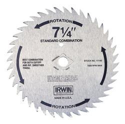 585-11240   Irwin Steel Circular Saw Blades