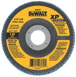 115-DW8250 | DeWalt Extended Performance Flap Wheels